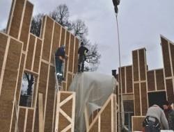 Sláma ve stavebnictví