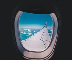 letadlo okno